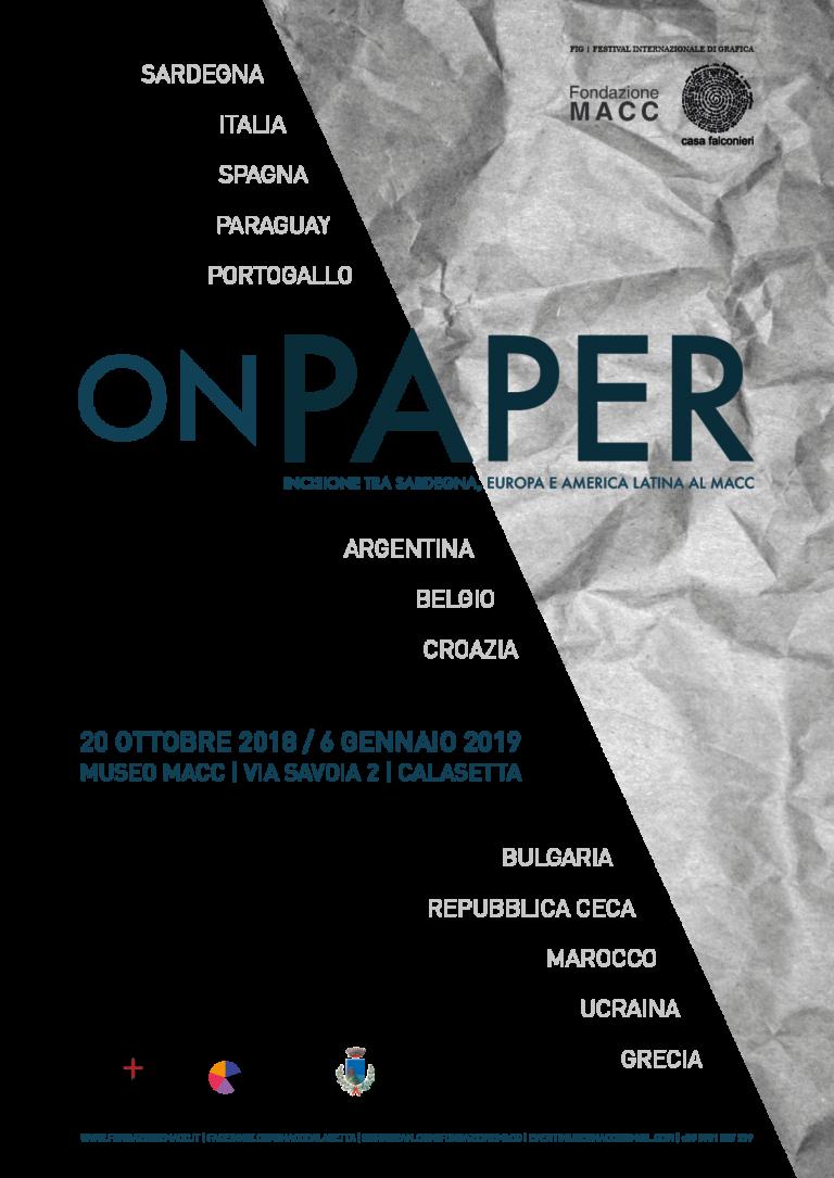 ON PAPER – Rassegna Internazionale di grafica