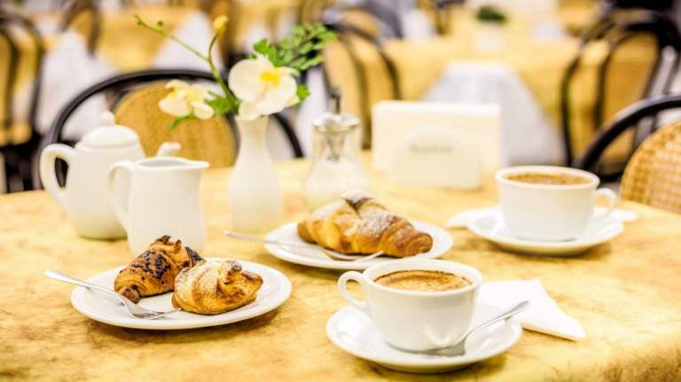 Le colazioni all'Hotel Cala di Seta